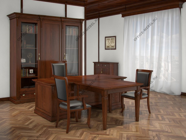 Кабинет Bergamo на Office-mebel.ru