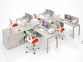 Комплект MDF-K07 на Office-mebel.ru
