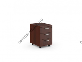 Тумба подкатная с 3 ящиками DVS23303 на Office-mebel.ru