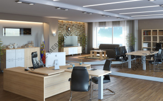 Yalta - Кабинеты руководителя на Office-mebel.ru