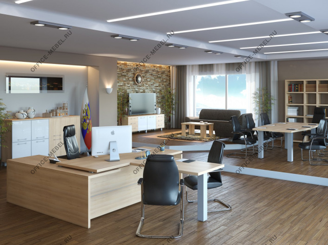 Мебель для кабинета Yalta на Office-mebel.ru
