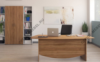 Lund - Кабинеты руководителя из материала МДФ из материала МДФ на Office-mebel.ru
