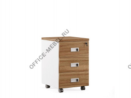 Тумба с 3 ящиками подкатная TES284303 на Office-mebel.ru