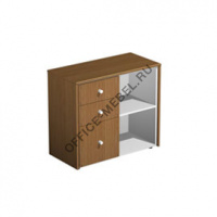 Шкаф для документов с файловыми ящиками КВ 307 БН на Office-mebel.ru