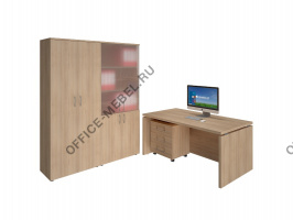 Композиция №1 на Office-mebel.ru